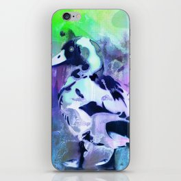 Duck abstract iPhone Skin