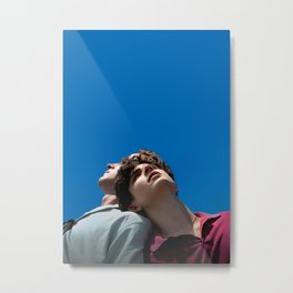 Call Me By Your Name (textless) Metal Print