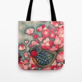 Blossom Birds Tote Bag