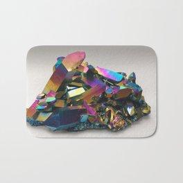 Titanium Rainbow Aura Quartz 1 Bath Mat