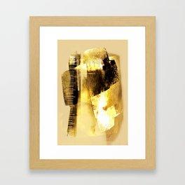 abstract meeting Framed Art Print