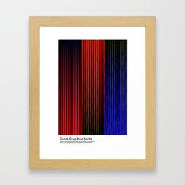 Carlos Cruz-Diez Fanfic Framed Art Print
