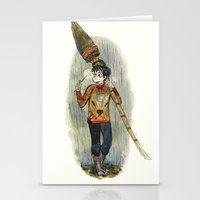 quidditch Stationery Cards featuring Harry Potter Quidditch Prep by Beastlyworlds