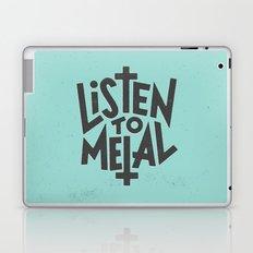 Listen To Metal, V2 Laptop & iPad Skin