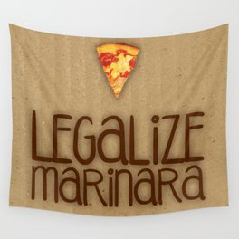 Legalize Marinara Wall Tapestry