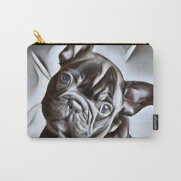 French Bulldog -  a portrait of beautiful French Bulldog puppy Carry-All Pouch