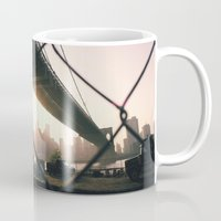 brooklyn Mugs featuring brooklyn by Kisanna Vipler