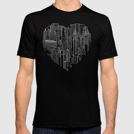Heart Of Manhattan  T-shirt