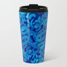 C13D NUMBERS blue Travel Mug