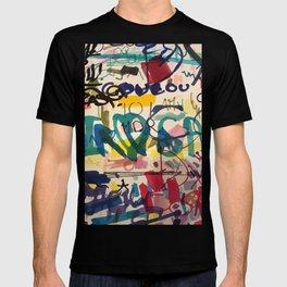 Urban Graffiti Paper Street Art T-Shirt