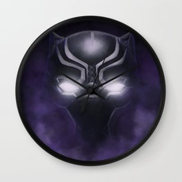 Black Panther - Cowl Portrait Wall Clock