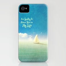 Lucky - for iphone Slim Case iPhone (4, 4s)