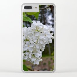 Woodland Beauty Clear iPhone Case