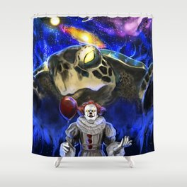 My Brother My Enemy Shower Curtain