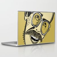 bill Laptop & iPad Skins featuring Bill by Sarah Mould