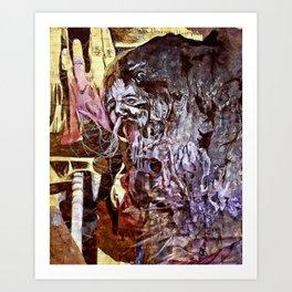 The bay/shoreline Art Print