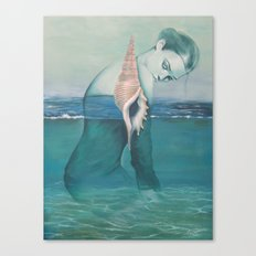Amphibious Canvas Print
