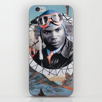 pilot iPhone & iPod Skins featuring Pilot by Jedi Master Schmidt