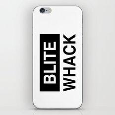 BLITE WHACK iPhone & iPod Skin