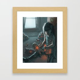 Toy Box Framed Art Print