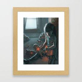 Toy Box Framed Art Print