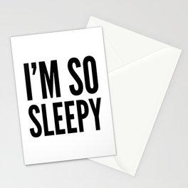 I'M SO SLEEPY Stationery Cards