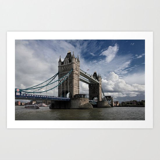 Tower Bridge, London Art Print