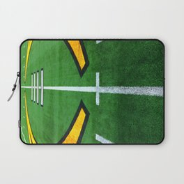 Rugby playing field Laptop Sleeve