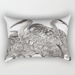 Birdhouses Rectangular Pillow