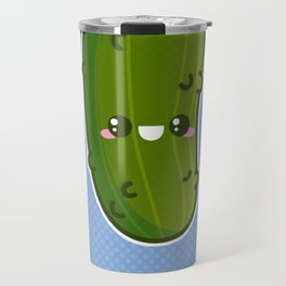Kawaii Pickle Travel Mug
