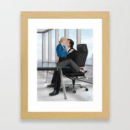 desk accessory Framed Art Print