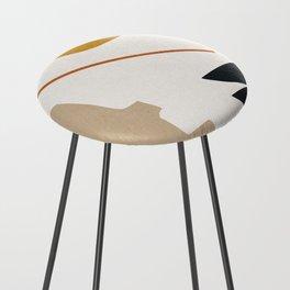 abstract minimal 6 Counter Stool