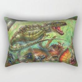 Tyrant Lizard King Rectangular Pillow