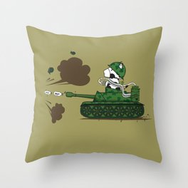 Muso Milkwar Tanker Throw Pillow