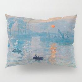 Claude Monet Impression Sunrise Pillow Sham
