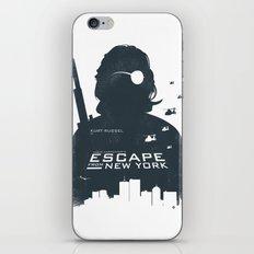John Carpenter's Escape From New York iPhone & iPod Skin
