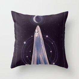 Tarot card: The moon Throw Pillow