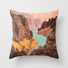 Tuktut Nogait National Park Throw Pillow