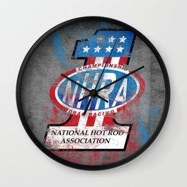 NHRA Wall Clock
