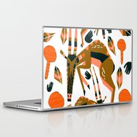 africa Laptop & iPad Skins featuring Africa by Marijke Buurlage