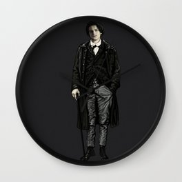 ARTHUR RIMBAUD-LEONARDO DICAPRIO  Wall Clock