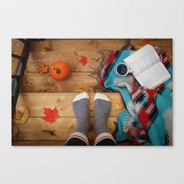 Her Autumn (Color) Canvas Print