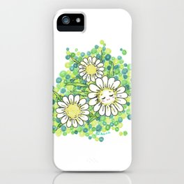 SWEET DAISY iPhone Case