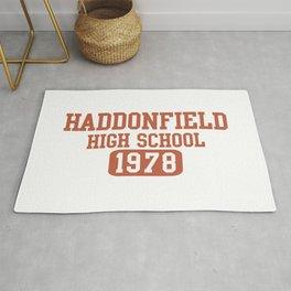 HADDONFIELD HIGH SCHOOL 1978 Rug