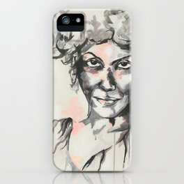 The truth about Anne iPhone Case