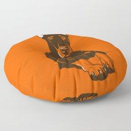 Doberman Pinscher Floor Pillow