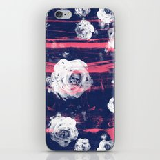 Roses & Skulls iPhone & iPod Skin