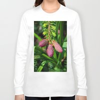 norway Long Sleeve T-shirts featuring Norway Spruce by Photography by Michiale