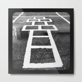 Hopscotch by Michael Bergmann Metal Print