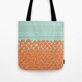 Infinite Wave Tote Bag